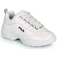 Παπούτσια Γυναίκα Χαμηλά Sneakers Fila STRADA F WMN Άσπρο