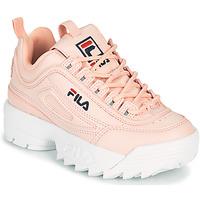 Παπούτσια Κορίτσι Χαμηλά Sneakers Fila DISRUPTOR KIDS Ροζ