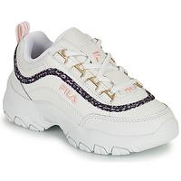 Παπούτσια Κορίτσι Χαμηλά Sneakers Fila STRADA A LOW JR Άσπρο / Beige