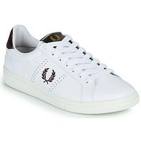 Παπούτσια Άνδρας Χαμηλά Sneakers Fred Perry B721 Άσπρο