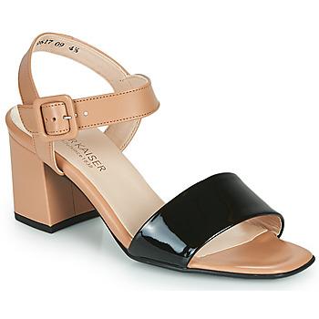 Παπούτσια Γυναίκα Σανδάλια / Πέδιλα Peter Kaiser PEORIA Nude / Black