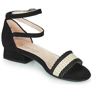 Παπούτσια Γυναίκα Σανδάλια / Πέδιλα Peter Kaiser PUERTO Black