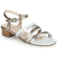 Παπούτσια Γυναίκα Σανδάλια / Πέδιλα Peter Kaiser PATIA Bronze / Άσπρο