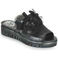 Παπούτσια Γυναίκα Τσόκαρα Papucei ARO Black