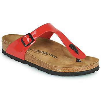 Παπούτσια Γυναίκα Σαγιονάρες Birkenstock GIZEH Red