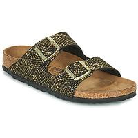 Παπούτσια Γυναίκα Τσόκαρα Birkenstock ARIZONA Black / Gold