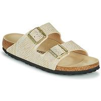 Παπούτσια Γυναίκα Τσόκαρα Birkenstock ARIZONA Gold / Άσπρο