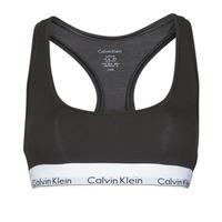 Εσώρουχα Γυναίκα Αθλητικά σουτιέν Calvin Klein Jeans MODERN COTTON UNLINED BRALETTE Black