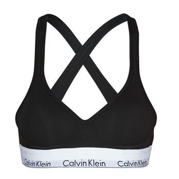 Εσώρουχα Γυναίκα Αθλητικά σουτιέν Calvin Klein Jeans MODERN COTTON BRALETTE LIFT Black