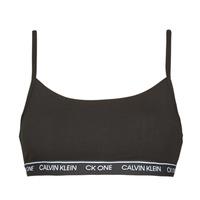 Εσώρουχα Γυναίκα Αθλητικά σουτιέν Calvin Klein Jeans UNLINED BRALETTE Black