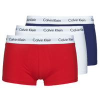Εσώρουχα Άνδρας Boxer Calvin Klein Jeans RISE TRUNK X3 Marine / Άσπρο / Red