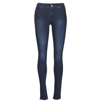 Υφασμάτινα Γυναίκα Skinny jeans Replay NEW LUZ Μπλέ / Fonce