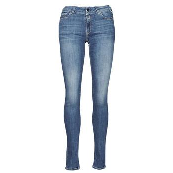 Υφασμάτινα Γυναίκα Skinny jeans Replay NEW LUZ Μπλέ / Moyen
