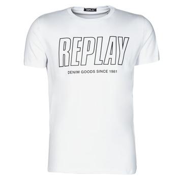 T-shirt με κοντά μανίκια Replay –