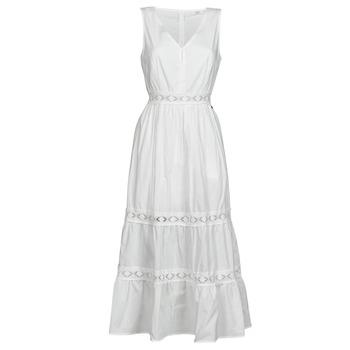 Υφασμάτινα Γυναίκα Κοντά Φορέματα Deeluxe MAEL Ecru