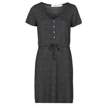Υφασμάτινα Γυναίκα Κοντά Φορέματα Deeluxe ALINA Black