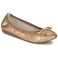 Παπούτσια Γυναίκα Μπαλαρίνες Moony Mood ELALA Bronze