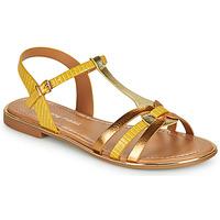 Παπούτσια Γυναίκα Σανδάλια / Πέδιλα Moony Mood OSOM Yellow