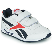 Παπούτσια Παιδί Χαμηλά Sneakers Reebok Classic REEBOK ROYAL CLJOG 2 2V Άσπρο / Marine / Red