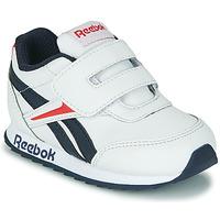 Παπούτσια Παιδί Χαμηλά Sneakers Reebok Classic REEBOK ROYAL CLJOG 2 KC Άσπρο / Marine / Red