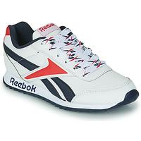 Παπούτσια Παιδί Χαμηλά Sneakers Reebok Classic REEBOK ROYAL CLJOG 2 Άσπρο / Marine / Red