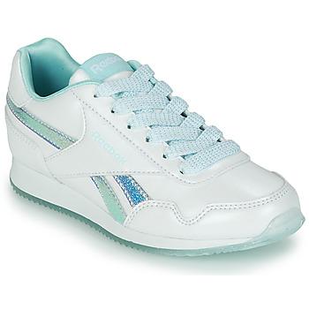 Παπούτσια Κορίτσι Χαμηλά Sneakers Reebok Classic REEBOK ROYAL CLJOG 3.0 Άσπρο / Μπλέ