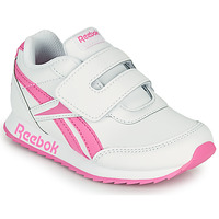 Παπούτσια Κορίτσι Χαμηλά Sneakers Reebok Classic REEBOK ROYAL CLJOG 2 KC Άσπρο / Ροζ