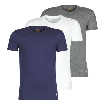 Υφασμάτινα Άνδρας T-shirt με κοντά μανίκια Polo Ralph Lauren SS CREW NECK X3 Marine / Grey / Άσπρο