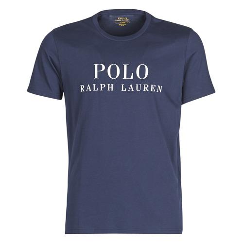 Υφασμάτινα Άνδρας T-shirt με κοντά μανίκια Polo Ralph Lauren SS CREW Marine