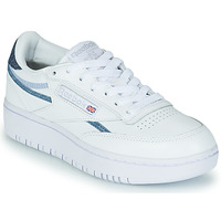 Παπούτσια Γυναίκα Χαμηλά Sneakers Reebok Classic CLUB C DOUBLE Άσπρο / Μπλέ