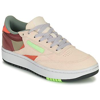 Παπούτσια Γυναίκα Χαμηλά Sneakers Reebok Classic CLUB C DOUBLE Beige / Maroon
