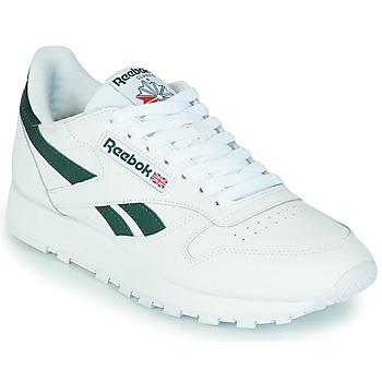 Παπούτσια Χαμηλά Sneakers Reebok Classic CL LTHR Άσπρο / Green