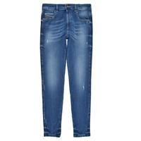 Υφασμάτινα Κορίτσι Skinny jeans Diesel D-SLANDY HIGH Μπλέ