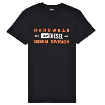 Υφασμάτινα Αγόρι T-shirt με κοντά μανίκια Diesel TDIEGOSK32 Black