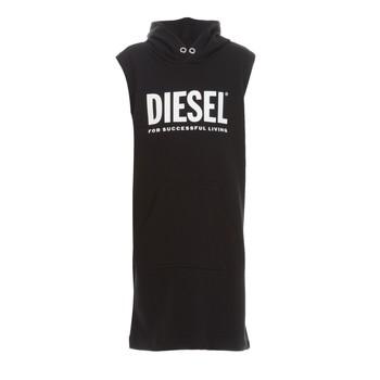 Υφασμάτινα Κορίτσι Κοντά Φορέματα Diesel DILSET Black