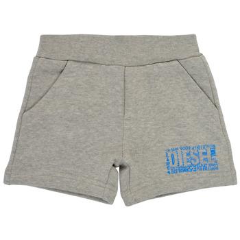 Υφασμάτινα Αγόρι Σόρτς / Βερμούδες Diesel POSTYB Grey