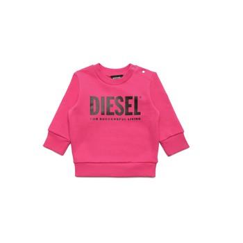Υφασμάτινα Κορίτσι Φούτερ Diesel SCREWDIVISION LOGOB Ροζ