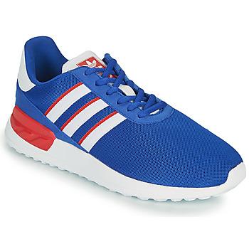 Παπούτσια Παιδί Χαμηλά Sneakers adidas Originals LA TRAINER LITE J Μπλέ / Άσπρο