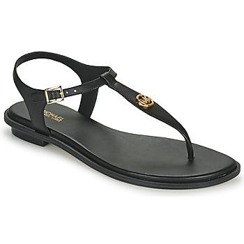 Παπούτσια Γυναίκα Σανδάλια / Πέδιλα MICHAEL Michael Kors MALLORY THONG Black