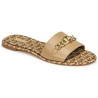Παπούτσια Γυναίκα Τσόκαρα MICHAEL Michael Kors RINA SLIDE Camel