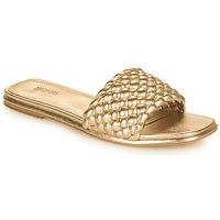 Παπούτσια Γυναίκα Τσόκαρα MICHAEL Michael Kors AMELIA FLAT SANDAL Gold