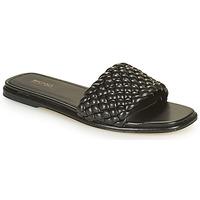 Παπούτσια Γυναίκα Τσόκαρα MICHAEL Michael Kors AMELIA FLAT SANDAL Black