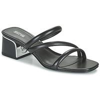 Παπούτσια Γυναίκα Τσόκαρα MICHAEL Michael Kors LANA MULE Black
