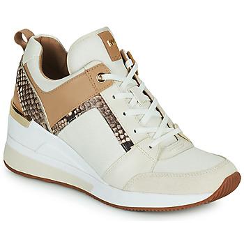 Παπούτσια Γυναίκα Χαμηλά Sneakers MICHAEL Michael Kors GEORGIE TRAINER Beige