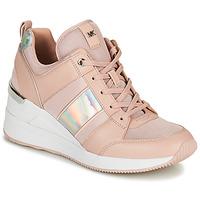 Παπούτσια Γυναίκα Χαμηλά Sneakers MICHAEL Michael Kors GEORGIE TRAINER Ροζ