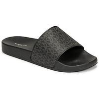 Παπούτσια Άνδρας σαγιονάρες MICHAEL Michael Kors JAKE SLIDE Black