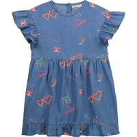 Υφασμάτινα Κορίτσι Κοντά Φορέματα Billieblush / Billybandit U12640-Z10 Μπλέ