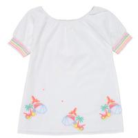 Υφασμάτινα Κορίτσι Κοντά Φορέματα Billieblush / Billybandit U12657-10B Άσπρο