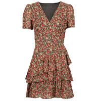 Υφασμάτινα Γυναίκα Κοντά Φορέματα Moony Mood ORNAMA Red