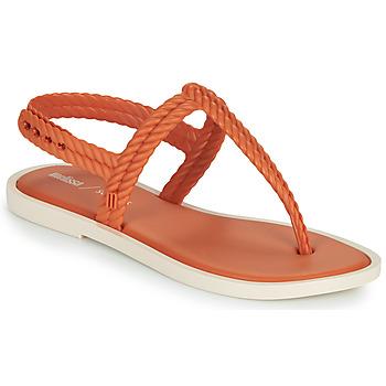 Παπούτσια Γυναίκα Σαγιονάρες Melissa FLASH SANDAL & SALINAS Orange / Beige